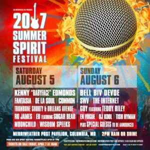 2017 Summer Spirit Festival