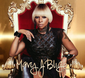 Mary J Blige on stage early 2018