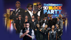 Baltimore 90's block party