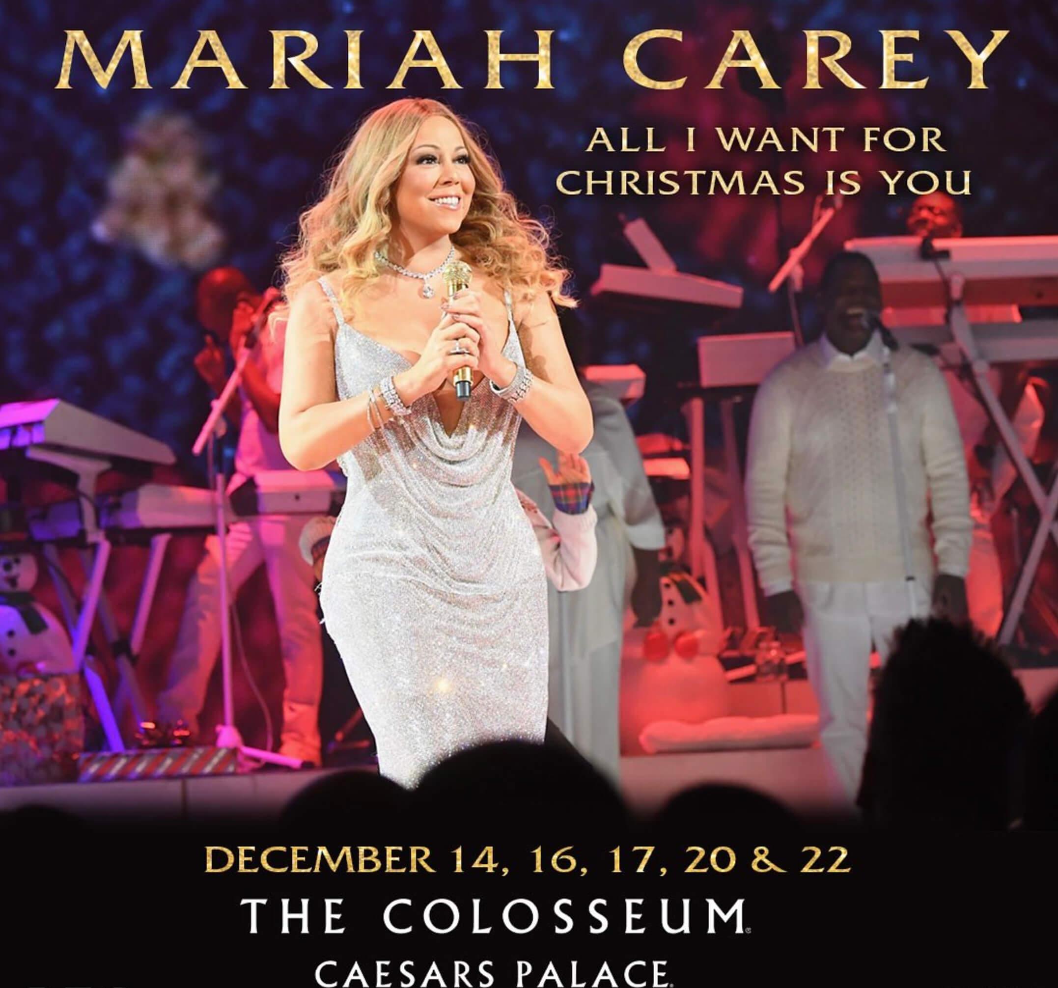 Mariah Carey Christmas Shows In Las Vegas