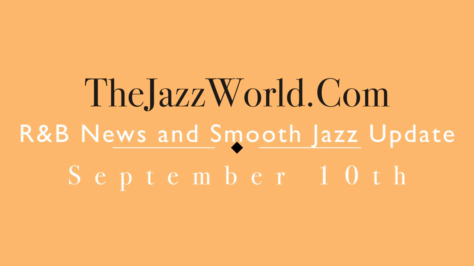 The Jazz World Show 9:10