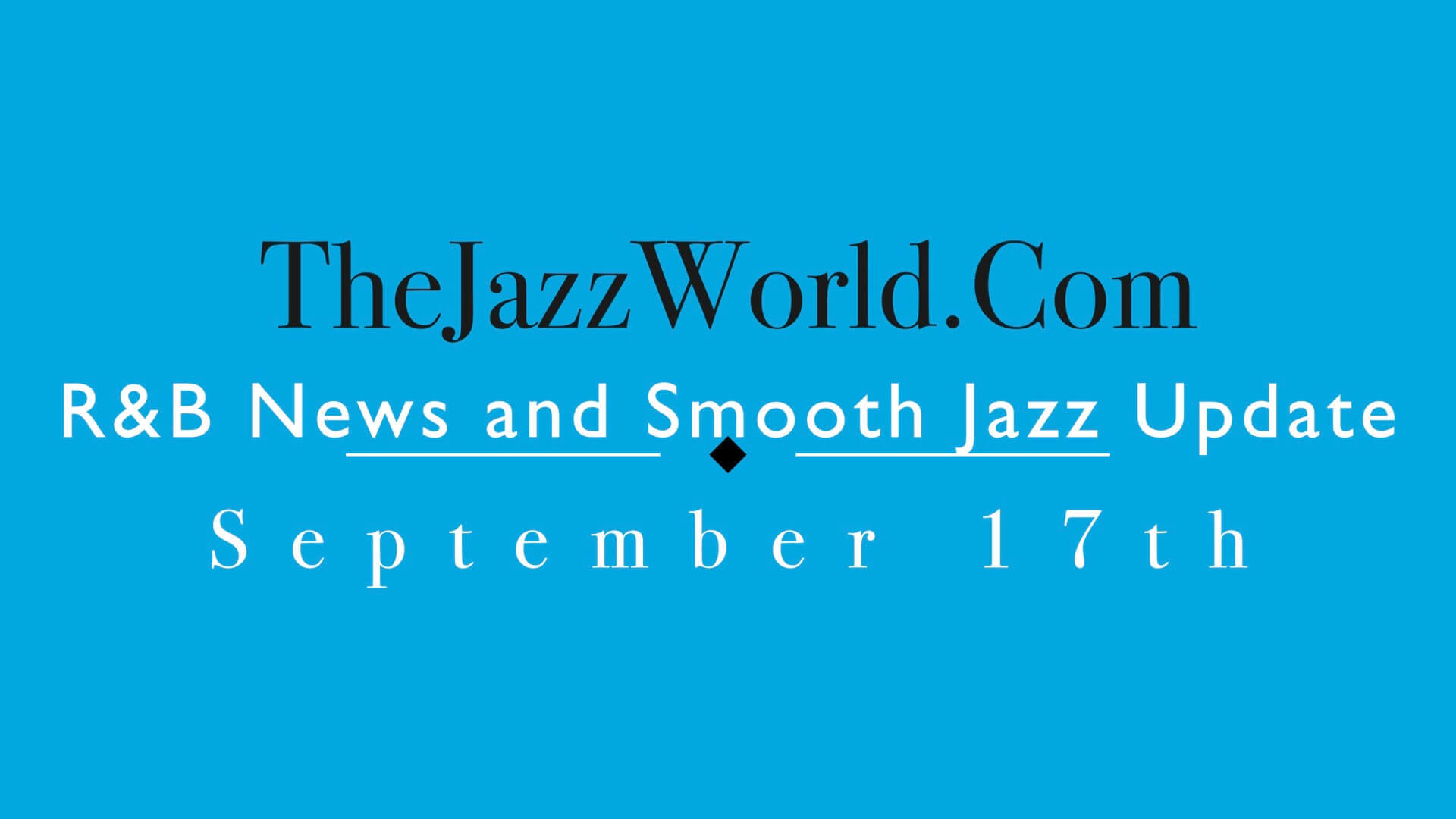 The Jazz World Show 9:17