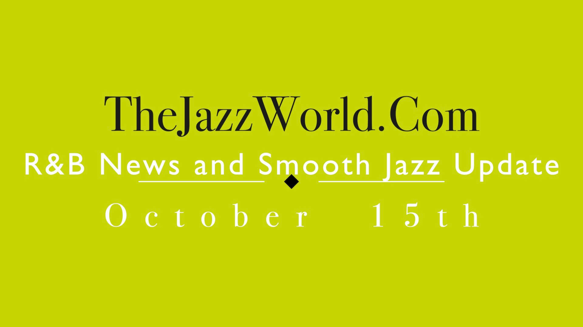 The Jazz World Show 10:15
