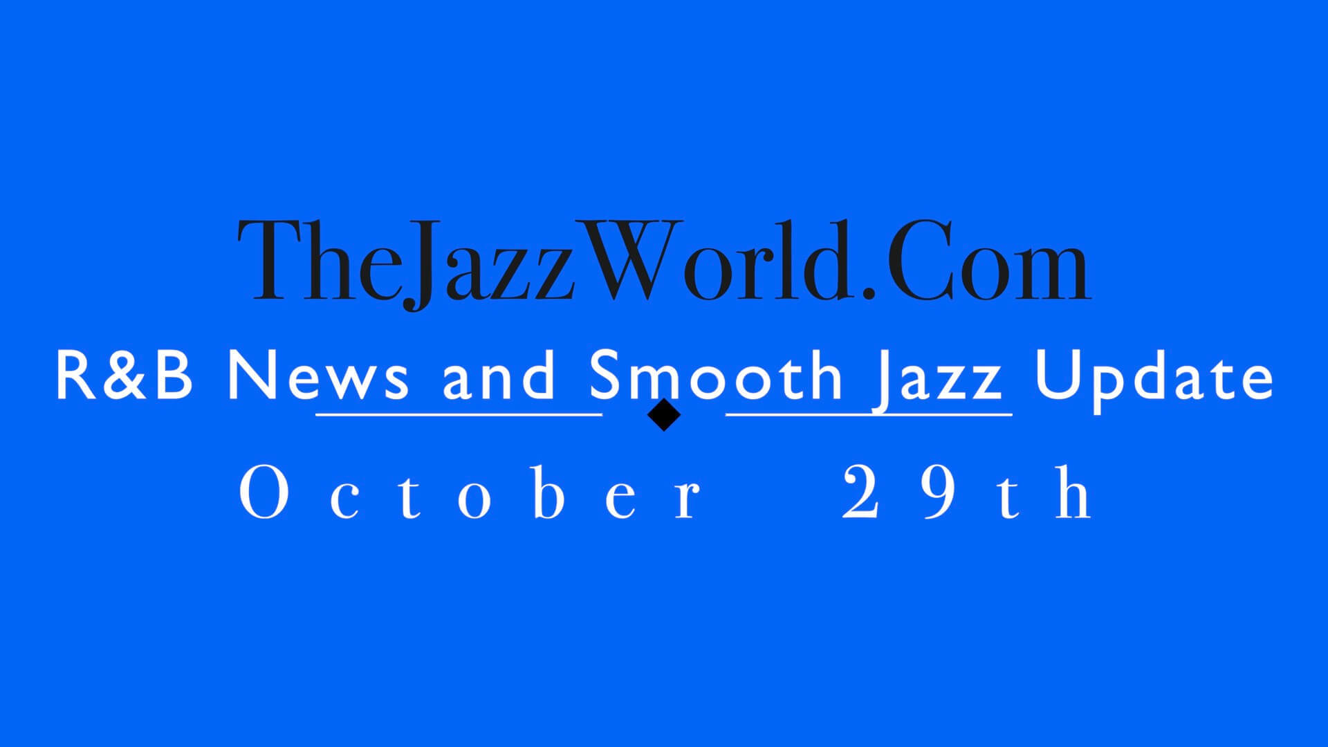The Jazz World Show 10:29