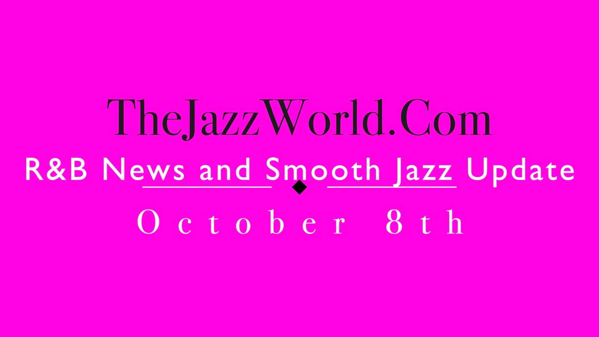 The Jazz World Show 10:8