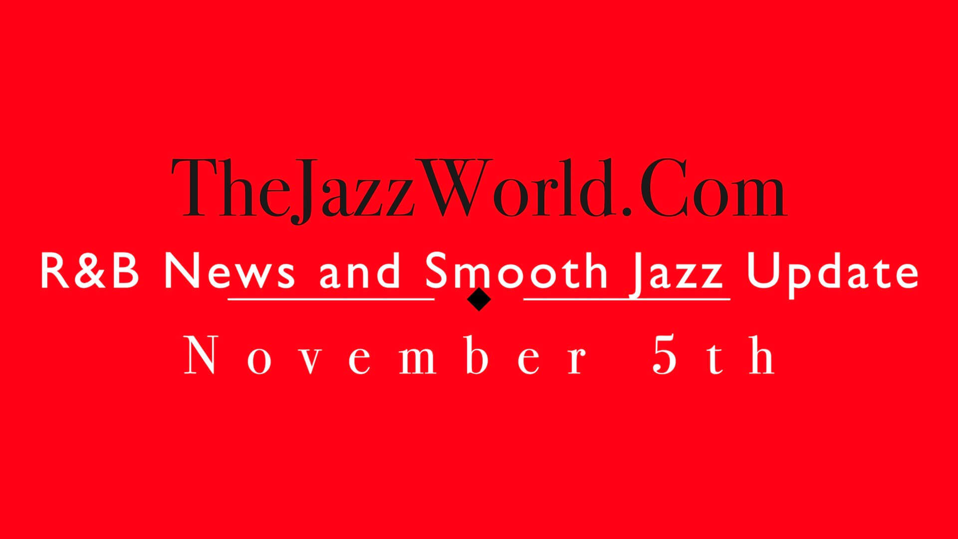 The Jazz World Show 11:5