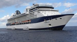 Celebrity Infinity Blue Note At Sea