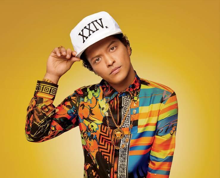 Bruno Mars In Concert Las Vegas 2018