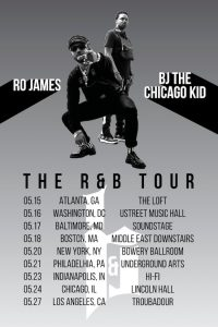 """Listen To """"Come and Talk To Me"""" by Ro James and BJ The Chicago Kid"""