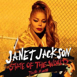Janet Jackson Tour Dates 2018