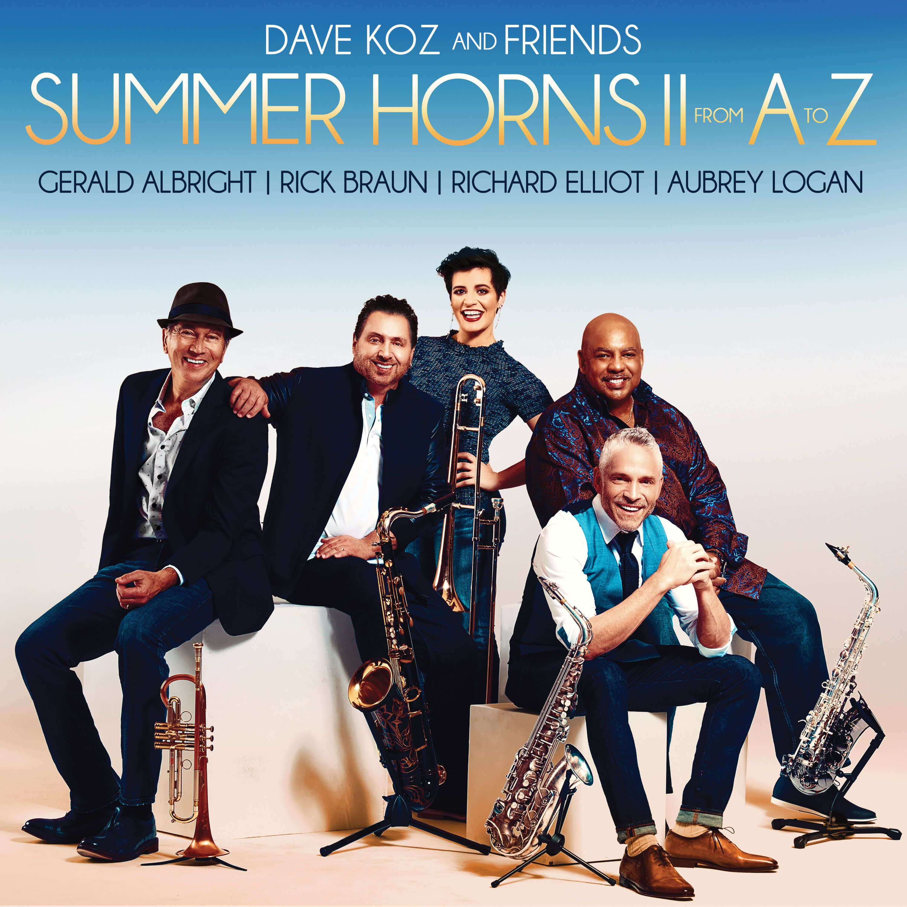 "Dave Koz and his friends return with ""Summer Horns II From A To Z"""