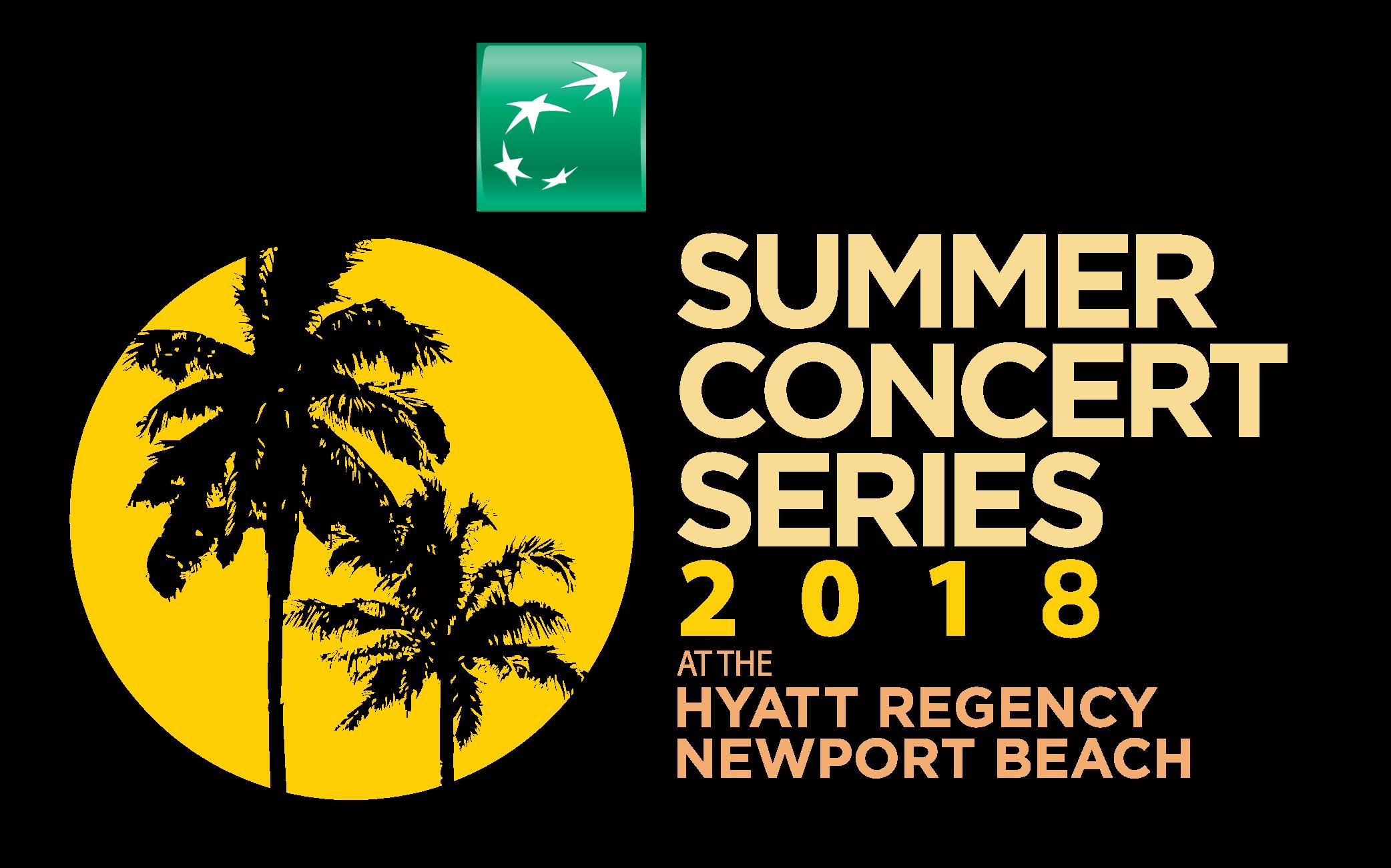 Hyatt Newport Beach Summer Concert Series 2018