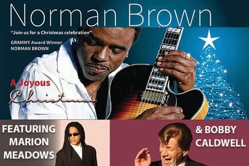Norman Brown's Joyous Christmas Tour 2018