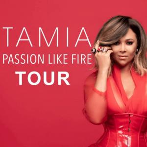 Tamia Passion Like Fire Tour