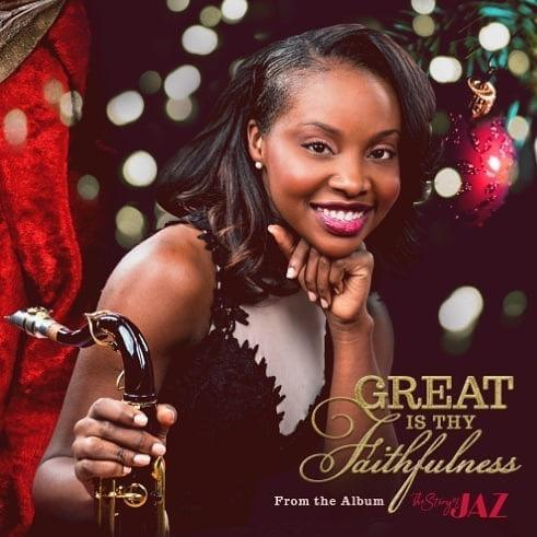 """Listen to """"Great Is Thy Faithfulness"""" by Jazmin Ghent"""