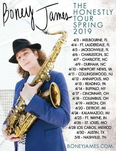 Boney James Spring Tour 2019
