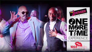 Tom Joyner/Kem at The Aretha