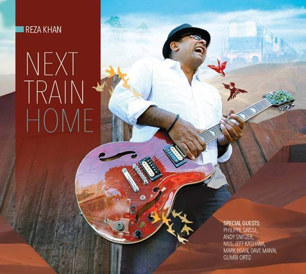 "Jazz Guitarist Reza Khan ""Next Train Home"" Album Release"