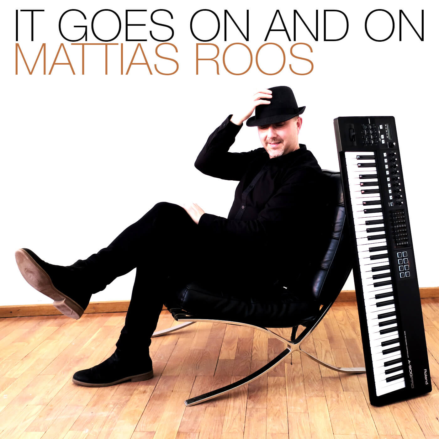 """Mattias Roos New Album Release """"It Goes on and On"""""""