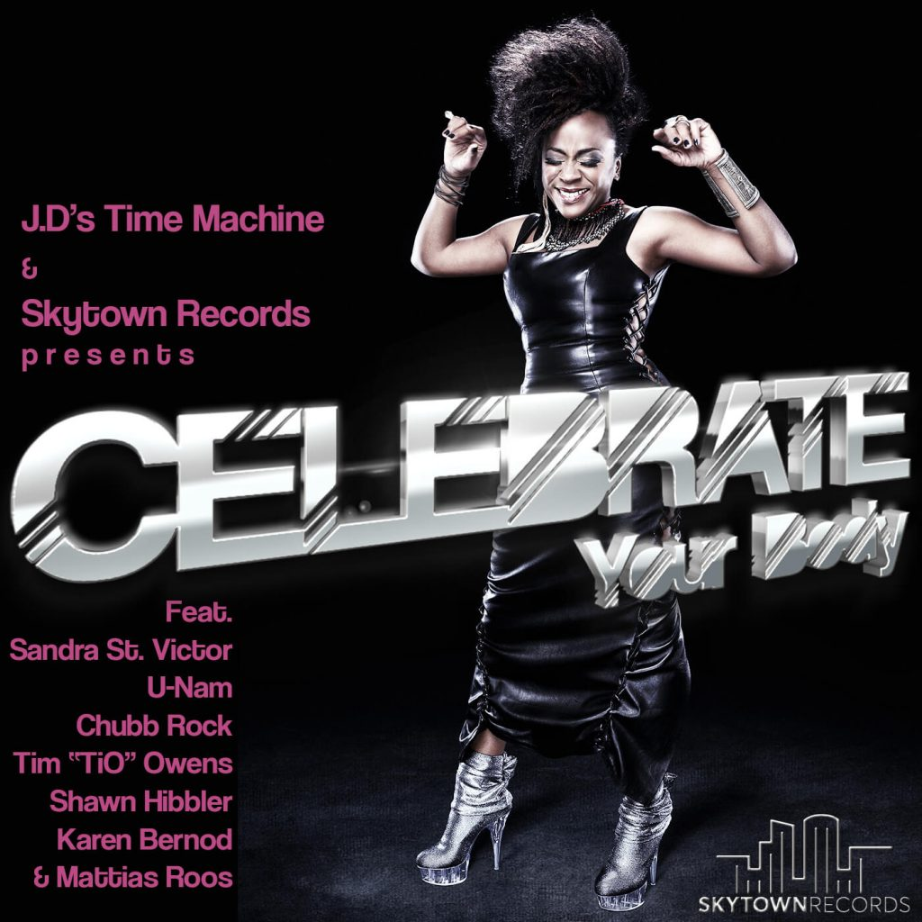 """Listen to """"Celebrate Your Body"""" by J.D's Time Machine"""