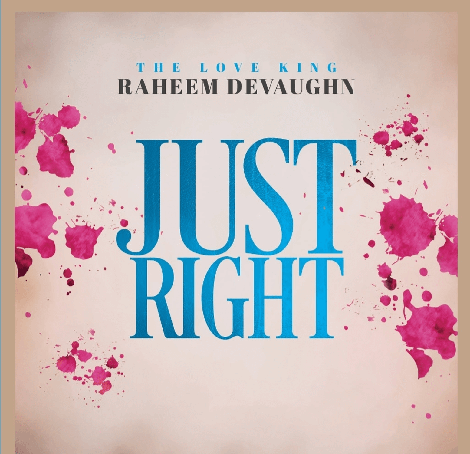"""Watch Music Video for """"Just Right"""" By Raheem DeVaughn"""