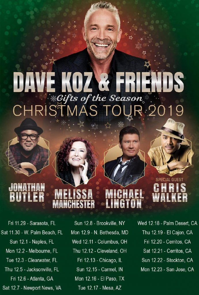 Dave Koz & Friends Christmas Tour 2019