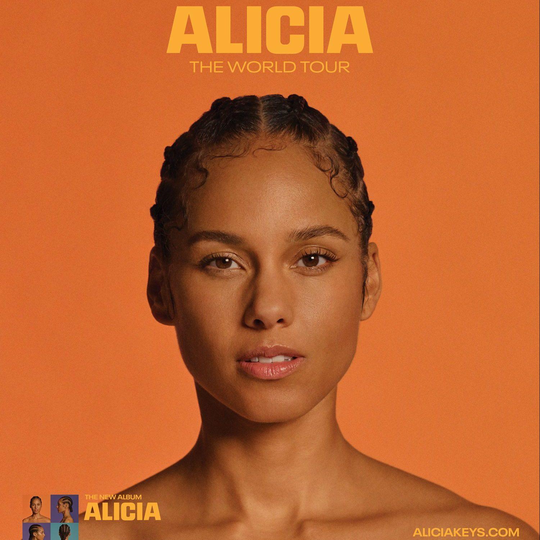 Alicia Keys The World Tour 'Alicia' 2020