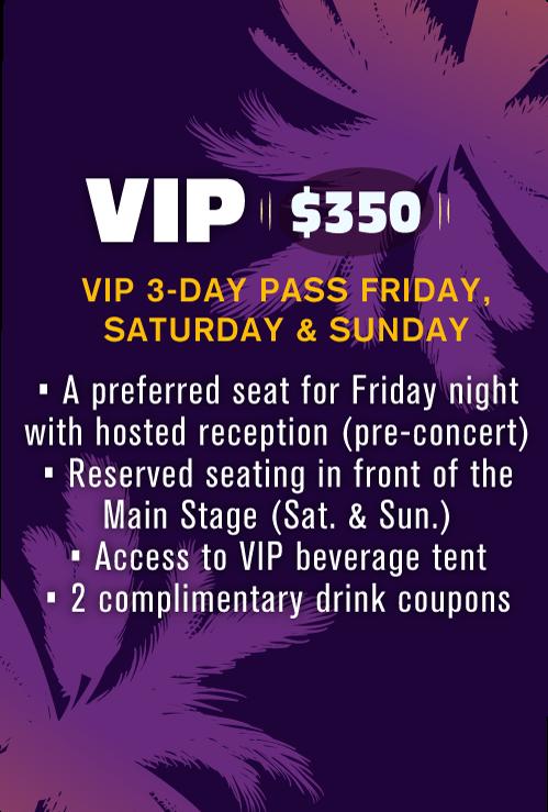 Hyatt Regency VIP 3-day pass