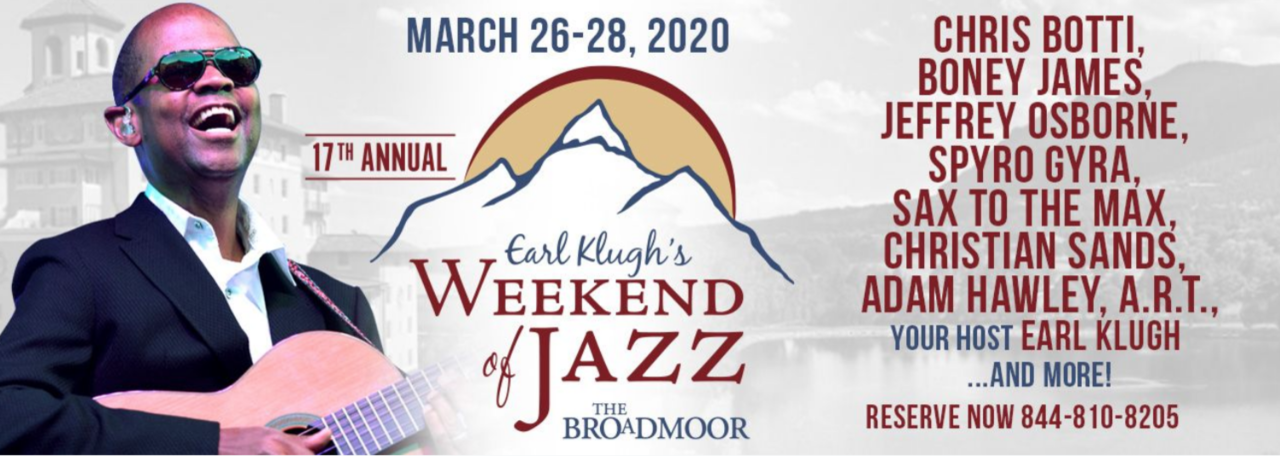 Earl Klugh's Weekend of Jazz at The Broadmoor 2020