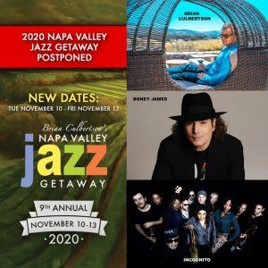 2020 Napa Valley Jazz Getaway Postponed