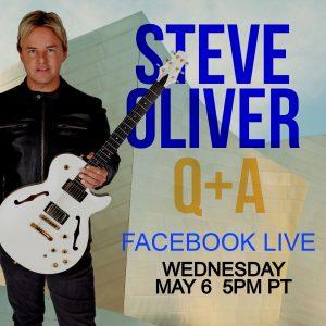 Steve Oliver Facebook Live on May 6