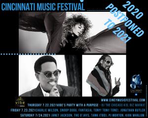Cincinnati Music Festival Postponed to 2021