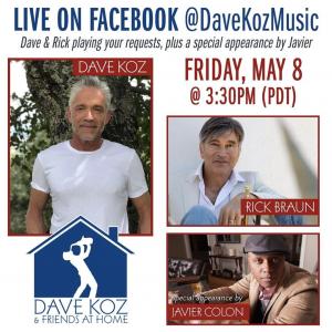 Dave Koz & Friends at Home May 8