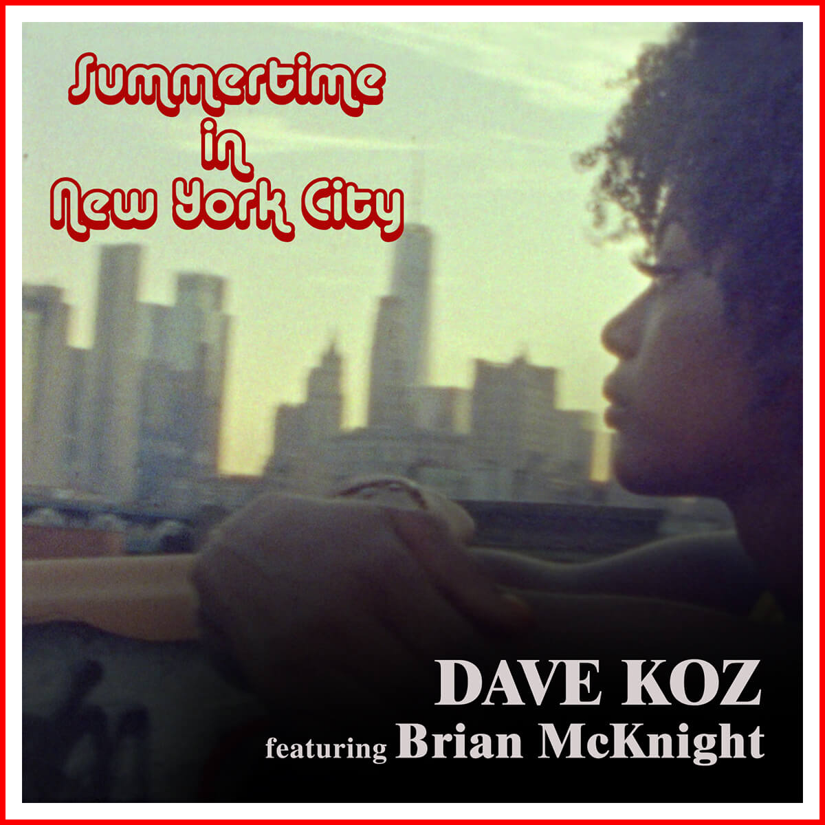 Summertime in NYC featuring Brian McKnight