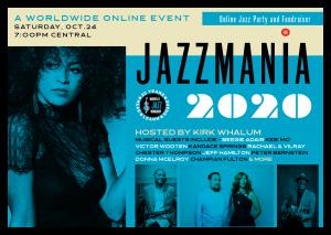 Global Jazzmania 2020 Online Jazz Party & Fundraiser