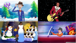 Chuck Berry Ella Fitzgerald and Frank Sinatra Holiday Videos
