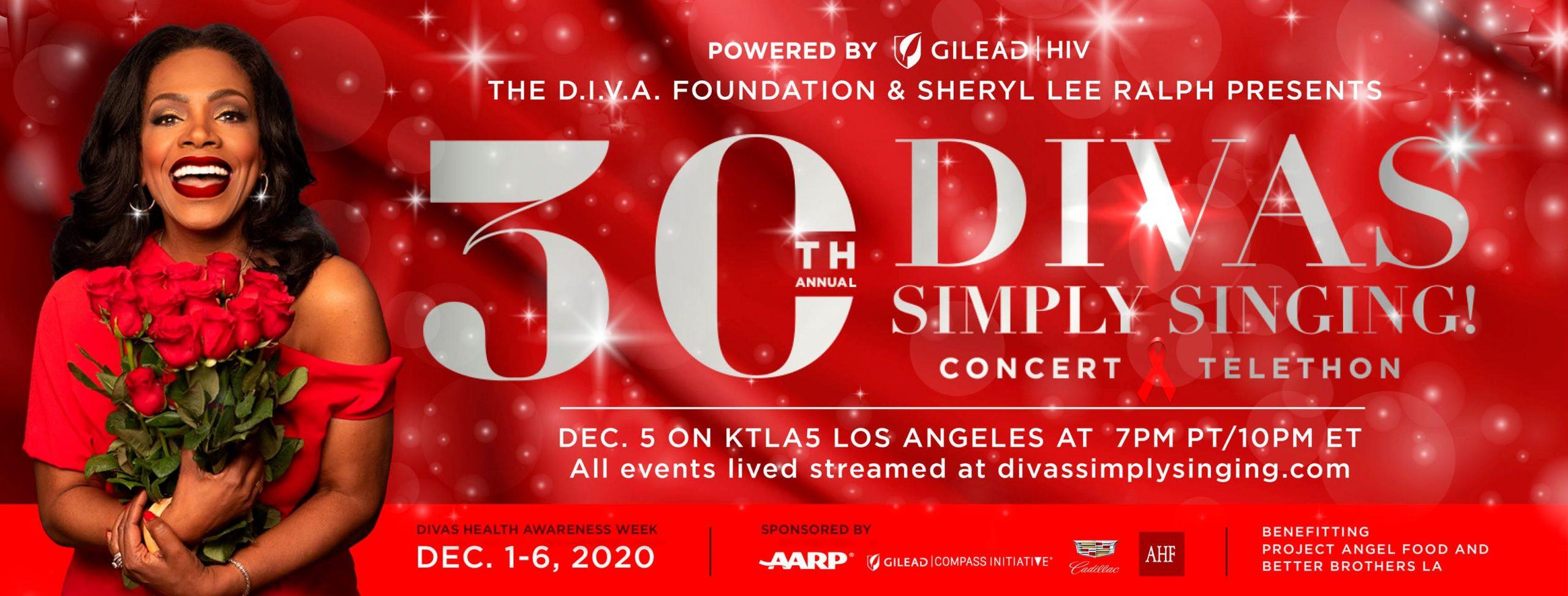 'DIVAS Simply Singing' Livestream December 5th