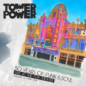 Tower of Power Announces 50th Anniversary Live Album