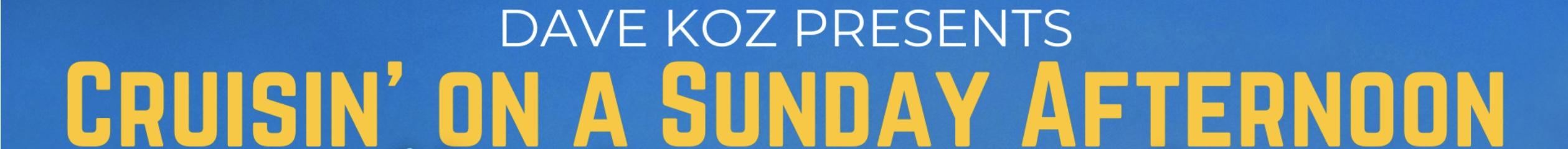 "Dave Koz Cruisin' On A Sunday Afternoon"" Livestream tickets"