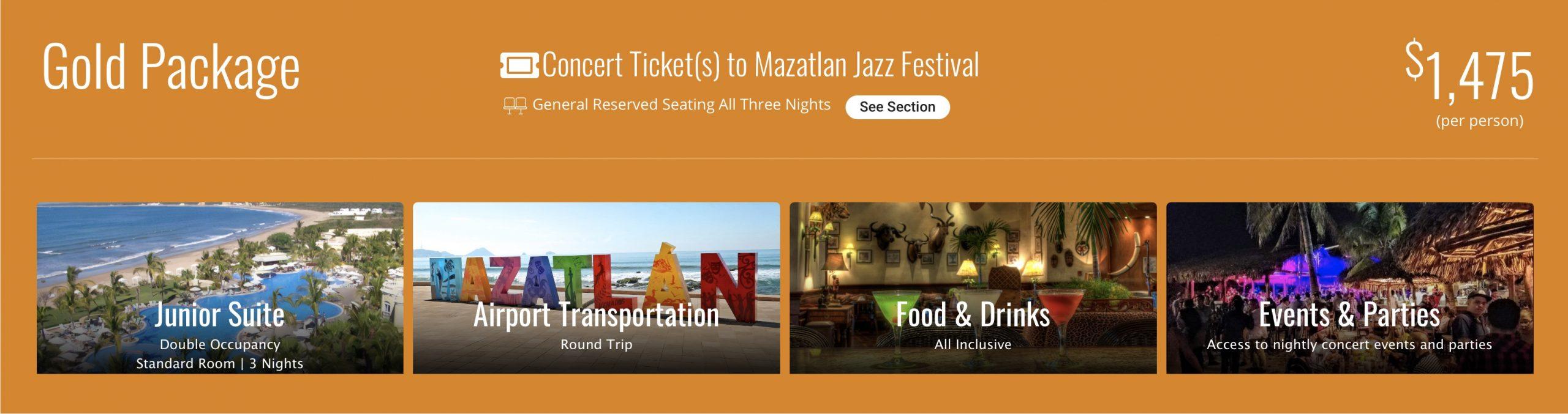 Mazatlan Jazz Festival 2021 Bookings