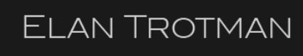 Elan Trotman Tour Dates 2021 Main Site
